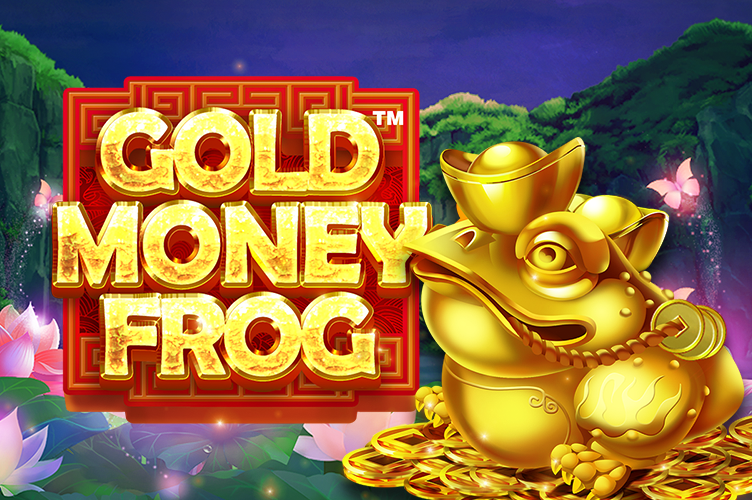 Gold Money Frog image