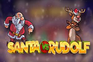 Santa vs Rudolf image