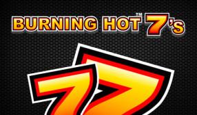 Burning Hot Sevens image
